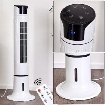 Ventilateur Urbino Tower Noir, Blanc, Télécommandes
