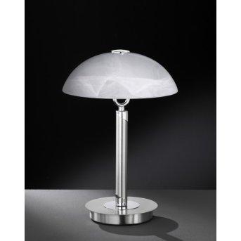 Lampe à poser Wofi BRISTOL Nickel mat, 2 lumières