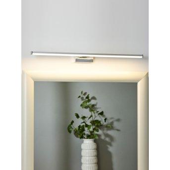 Lampe pour miroir Lucide ONNO LED Chrome, 1 lumière