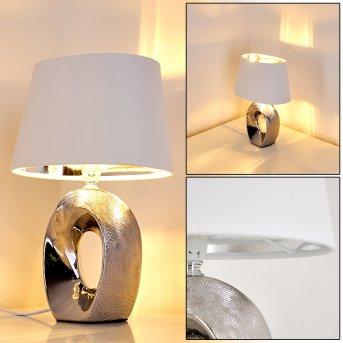 Lampe à poser Rovio Argenté, 1 lumière