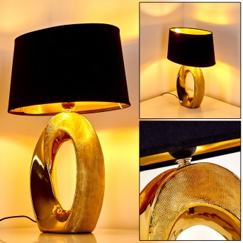 Lampe à poser Rovio Or, 1 lumière