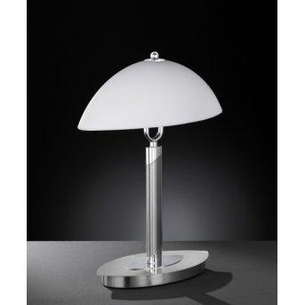 Lampe à poser Wofi NEWTON Nickel mat, 2 lumières