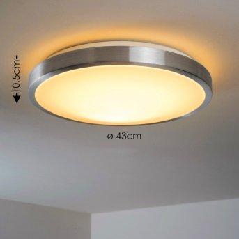 Plafonnier LED SORA Blanc, 1 lumière