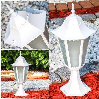 Borne lumineuse Hongkong Frost Blanc, 1 lumière