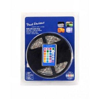 Bandes LED Paul Neuhaus TEANIA Multicolore, 300 lumières, Télécommandes, Changeur de couleurs