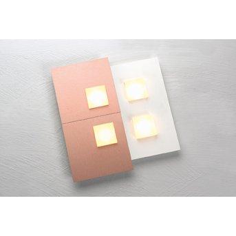 Plafonnier Bopp PIXEL 2.0 LED Blanc, 4 lumières