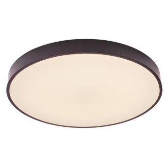 Plafonnier Brilliant Slimline LED Noir, Blanc, 1 lumière