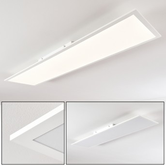 Plafonnier Antria LED Blanc, 1 lumière