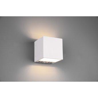 Applique murale Trio Figo LED Blanc, 1 lumière, Télécommandes, Changeur de couleurs