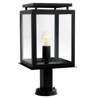 Borne lumineuse KS Verlichting De Vecht Noir, 1 lumière