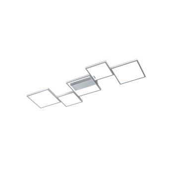Plafonnier Trio Sorrento LED Aluminium, 1 lumière