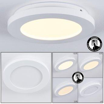 Plafonnier Siguna LED Blanc, 1 lumière