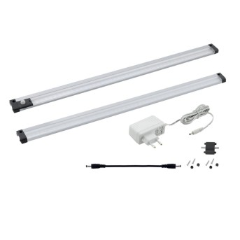 Lampes sous-meuble Eglo VENDRES LED Aluminium, 1 lumière
