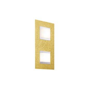 Applique murale / Plafonnier Grossmann BASIC LED Laiton, 2 lumières