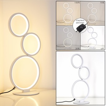 Lampe à poser Rodekro LED Blanc, 1 lumière
