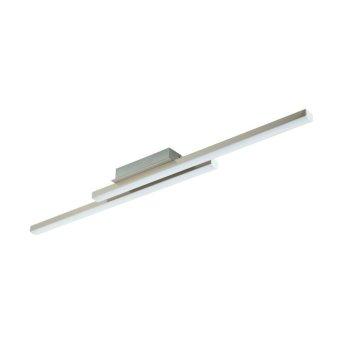 Plafonnier Eglo CONNECT FRAIOLI-C LED Nickel mat, 2 lumières, Changeur de couleurs
