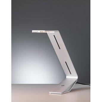 Flad Tecnolumen Lampe à poser LED Gris, Argenté, 1 lumière
