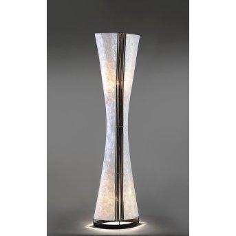Lampadaire Paul Neuhaus ABUJA Noir, Blanc, 2 lumières