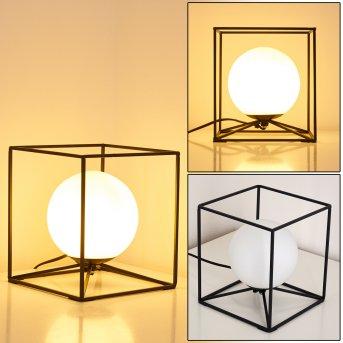 Lampe à poser Legano Noir, 1 lumière