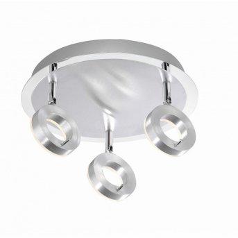 Plafonnier Paul Neuhaus SILEDA Aluminium, 3 lumières