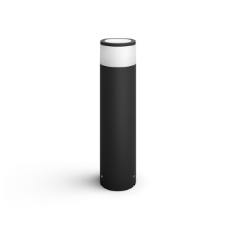 Borne d'éclairage, kit d'extension Philips Hue Ambiance White & Color Calla LED Noir, 1 lumière, Changeur de couleurs