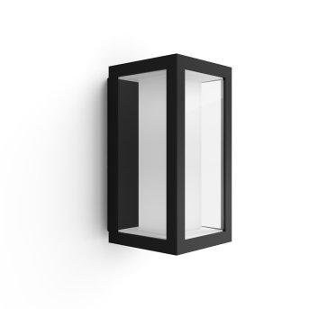 Applique murale Philips Hue Ambiance White & Color Impress LED Noir, 1 lumière, Changeur de couleurs
