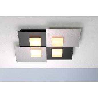 Plafonnier Bopp PIXEL 2.0 LED Noir, 4 lumières