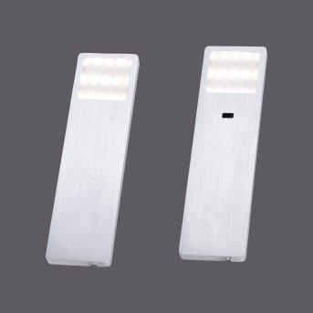 lampes pour bandeaux Paul Neuhaus HELENA LED Aluminium, 1 lumière, Détecteur de mouvement
