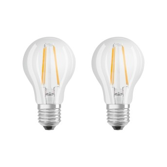 Lot de 2 Osram LED E27 6 Watt 2700 Kelvin 806 Lumen