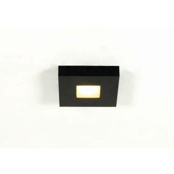 Plafonnier Bopp Cubus LED Noir, 1 lumière