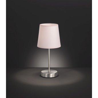 Lampe à poser Wofi CESENA Argenté, 1 lumière