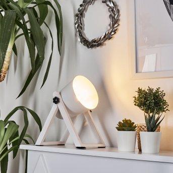 Lampe à poser Novilly Blanc, 1 lumière