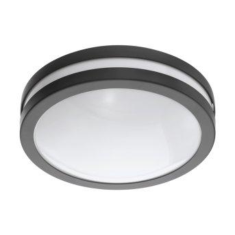 Plafonnier Eglo Connect LOCANA LED Anthracite, 1 lumière