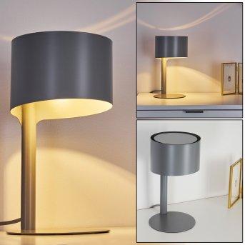 Lampe de table Launceston Gris, 1 lumière