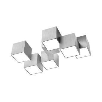 Plafonnier Grossmann ROCKS LED Aluminium, 6 lumières