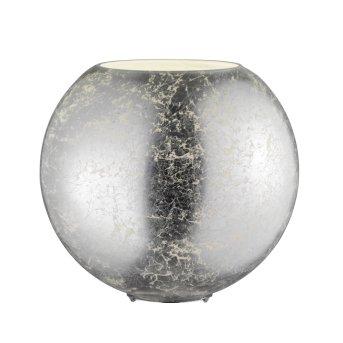Lampe de table Wofi FARA Argenté, 1 lumière