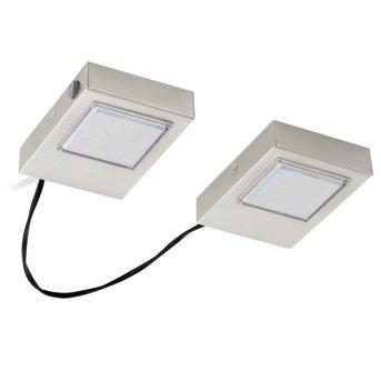 Lampe à encastrer Eglo LAVAIO LED Nickel mat, 2 lumières