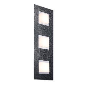 Plafonnier Grossmann BASIC LED Anthracite, 3 lumières