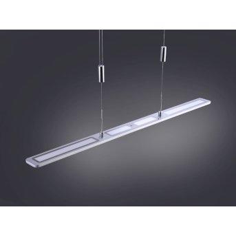 Suspension Paul Neuhaus NIKA LED Aluminium, 1 lumière