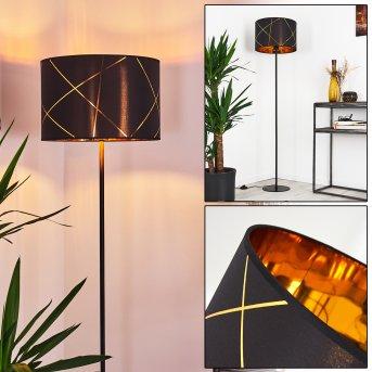 Lampadaire Opatija Noir, 1 lumière