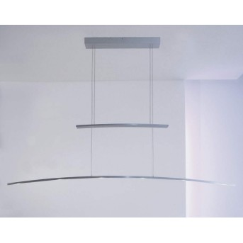 Suspension Bopp ARCO LED Aluminium, 6 lumières
