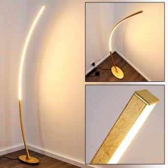 Lampadaire Nagu LED Or, 1 lumière