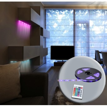 Bande LED Globo, 150 lumières, Changeur de couleurs