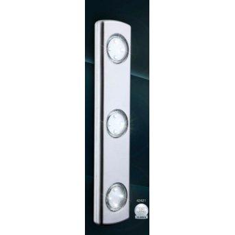 Spot sous meuble Globo SPOOKY LED Argenté, 3 lumières
