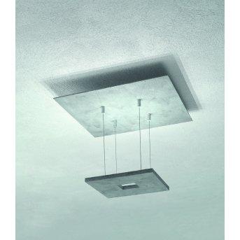 Plafonnier Escale ZEN D2W LED Gris, 4 lumières