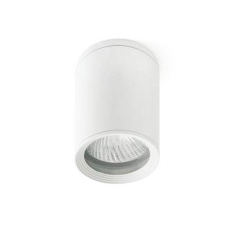 Plafonnier d'extérieur Faro Barcelona Tasa Blanc, 1 lumière