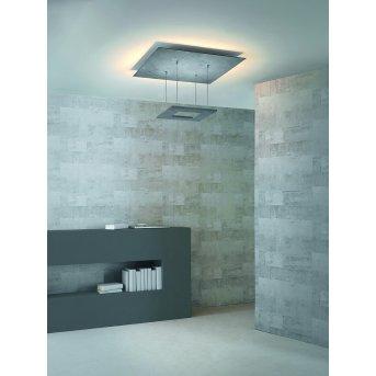 Plafonnier Escale ZEN D2W LED Gris, 8 lumières