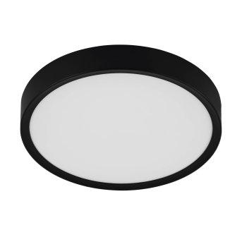 Plafonnier Eglo MUSURITA LED Noir, 1 lumière