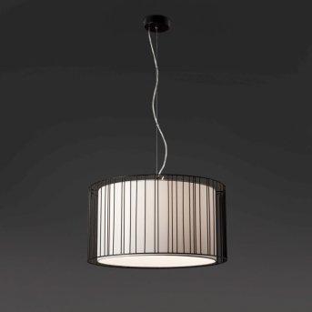 Lampe pendante Faro Linda Noir, 1 lumière