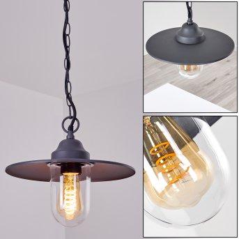Lampe d'extérieur Mijas Anthracite, 1 lumière